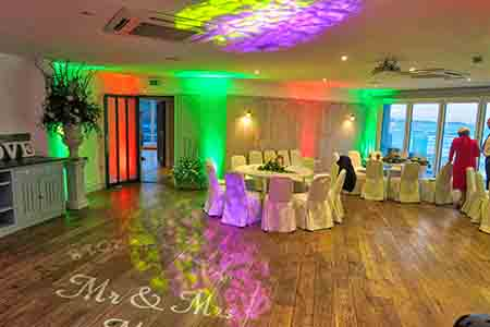 Cornwall Wedding DJ Watergate Bay Hotel Mood lighting