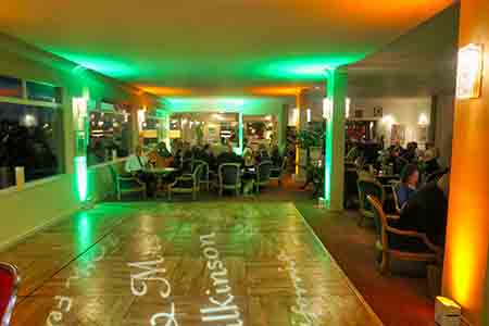 Cornwall Wedding DJ California Hotel Mood Lighting