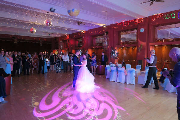 Atlantic Hotel Newquay First Dance