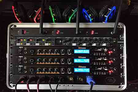 Cornwall Wedding DJ stand alone silent disco system